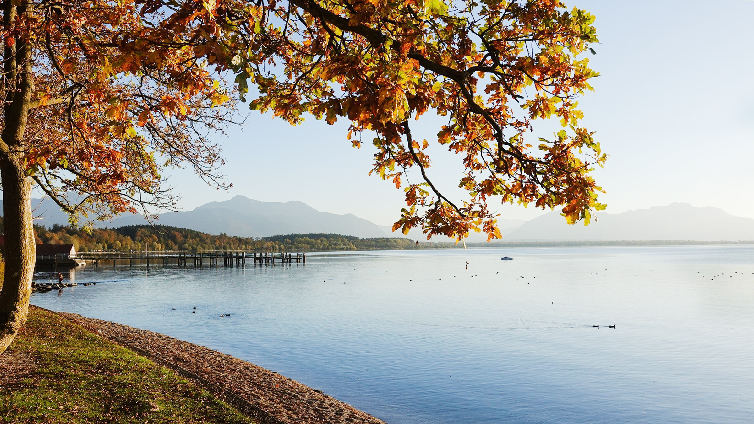 Herbststimmung am Chiemsee