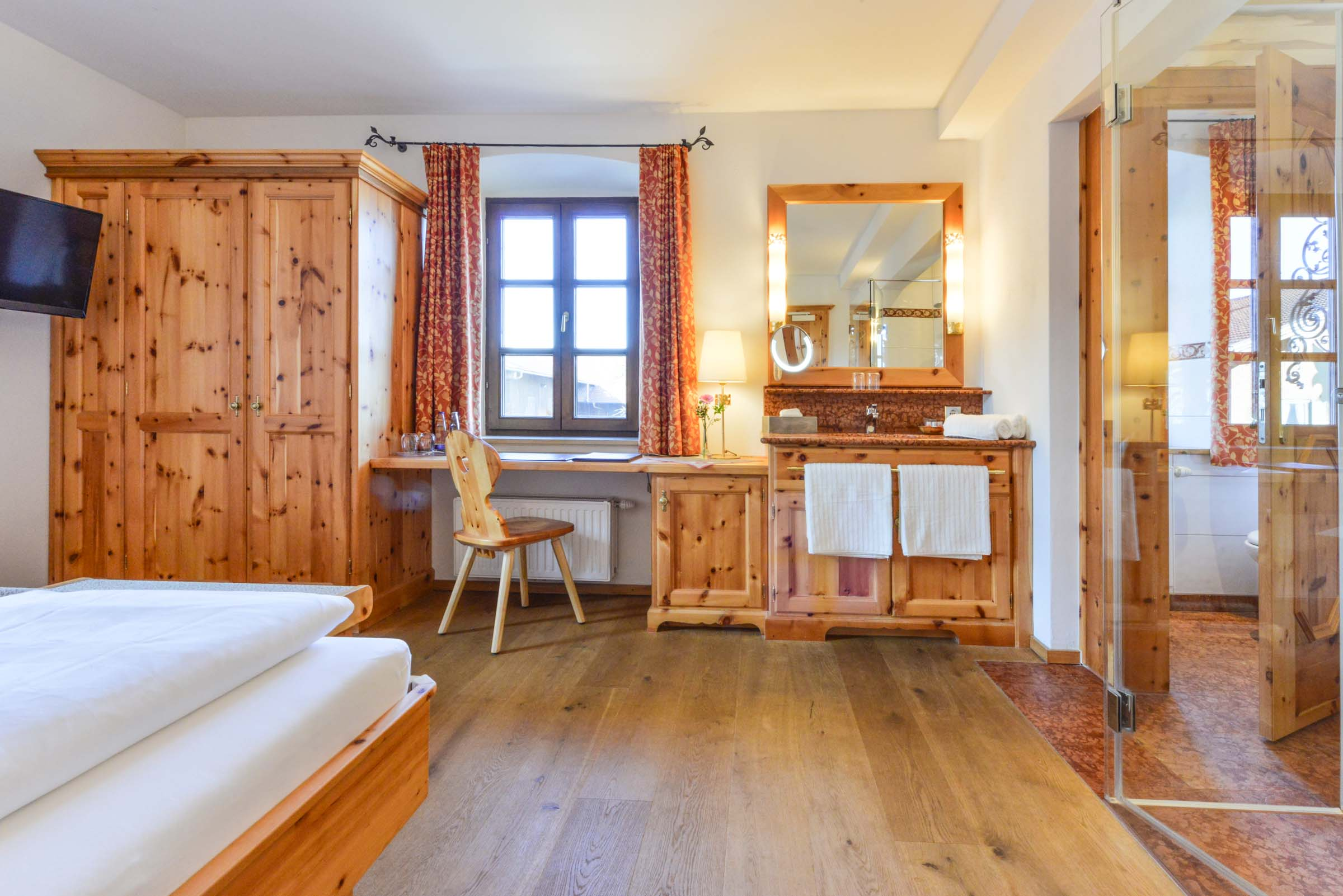 Doppelzimmer Standard Landgasthof zum Erdinger Weißbräu
