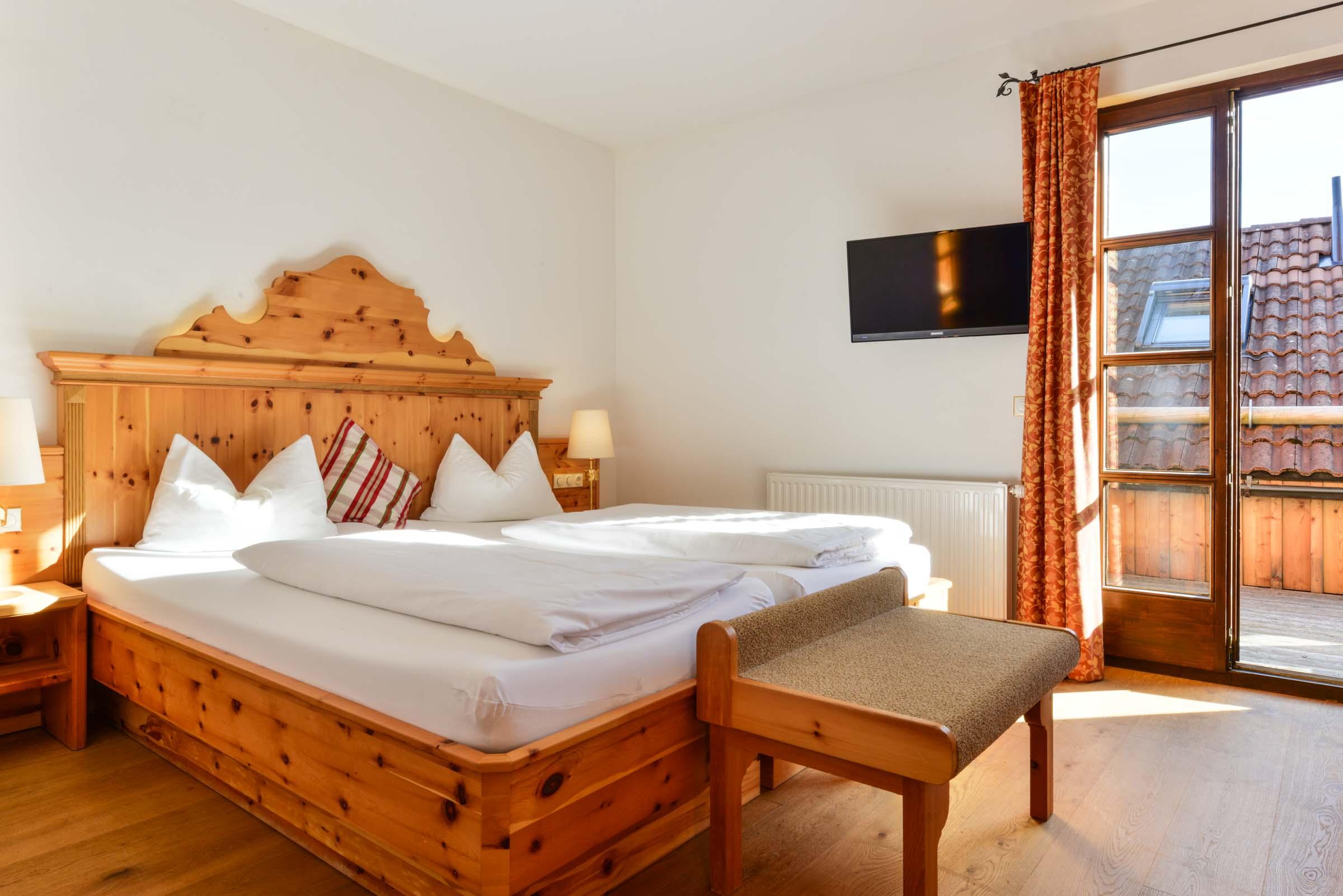 Comfort Deluxe Zimmer Landgasthof zum Erdinger Weißbräu