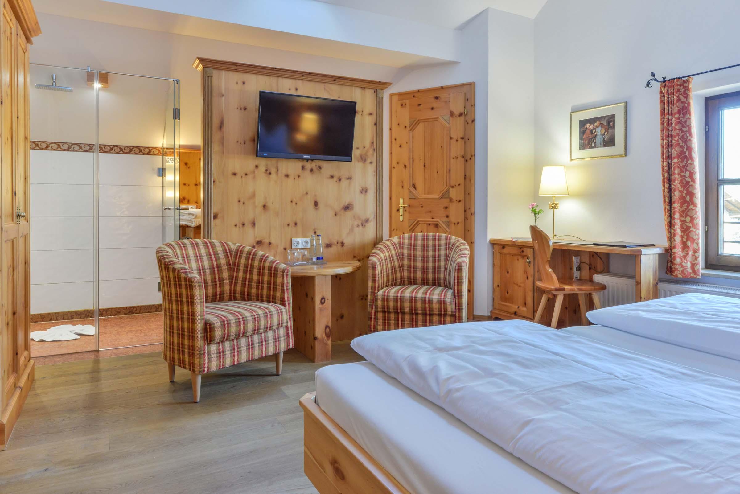 Doppelzimmer Deluxe Landgasthof zum Erdinger Weißbräu